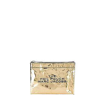 Marc Jacobs Gold Plastic Clutch