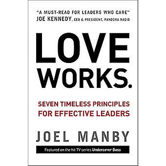 أحب الأشغال-سبعة المبادئ الخالدة لقادة فعالة م جويل