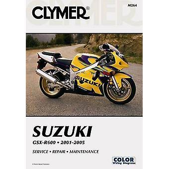 Suzuki GSX-R600 2001-2005 - Service - Repair - Maintenance (Clymer Mot