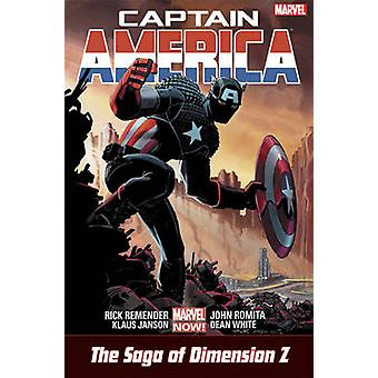 Captain America - Castaway in Dimension Z by Rick Remender - John Romi