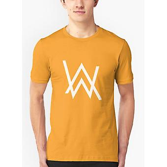 Alan walker geel t-shirt