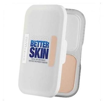3 x Maybelline Superstay Better Skin Powder Compact Foundation 9g - 020 Cameo