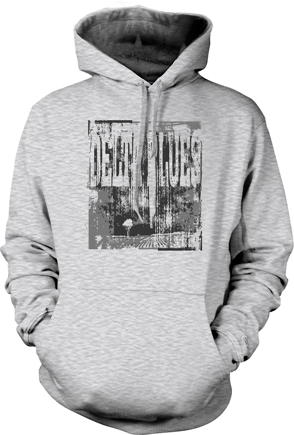 Mens Hoodie - Delta Blues Guitar - Rock Music