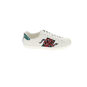 Gucci zapatos de cuero blanco