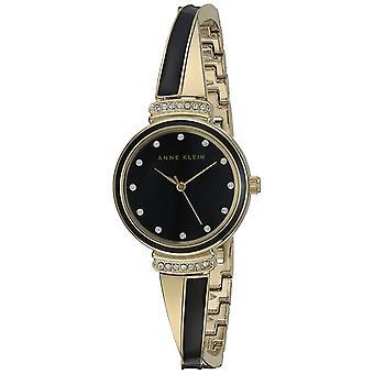 Anne Klein doré métallique Ladies Watch AK-2216BKGB