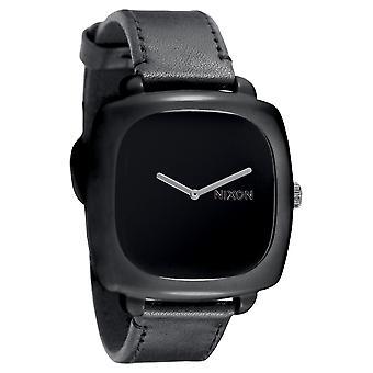 Nixon der Verschluss schwarz Damenuhr (A167000)