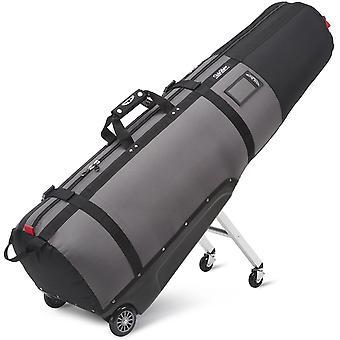 Sun Mountain ClubGlider Journey Golf Wheeled Travel Cover Black/Gunmetal