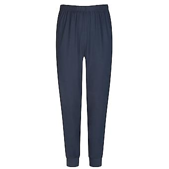 Mey Men 11289-668 Men's Yacht Blue Striped Cotton Pyjama Set