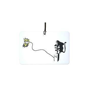Banksy Monkey Detonator Car Air Freshener