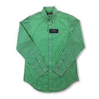 Ralph Lauren Polo regular shirt in green stripe