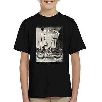 Divide & Conquer Born To Ride Kid's T-Shirt