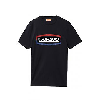 Napapijri Sogy Ss T-shirt Blue Marine