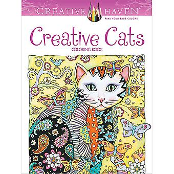 Dover Publications-Creative Haven Creative Cats DOV-89640