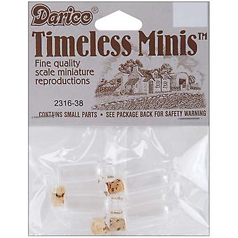 Timeless Miniatures Spice Bottles 4 Pkg 2316 38