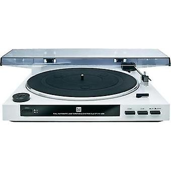 USB turntable Dual DT 210 white Belt drive White