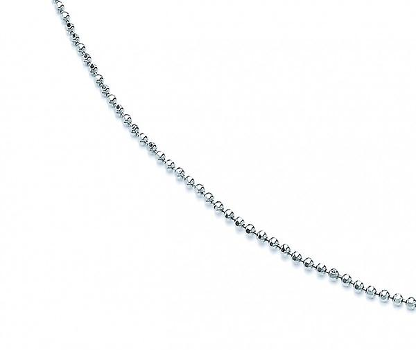 Cavendish French Sterling Silver Popcorn Chain 16-18