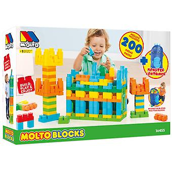 Molto Case Blocks 200 Pcs + Pup Up