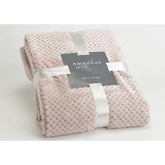 Amadeus Pink Chess Blanket 130X170 (Home , Textile , Blankets)