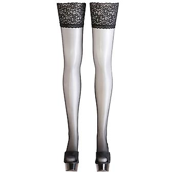 Hold-Ups mit Lace trim