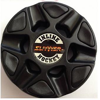 SlivVver - official IIHL roller hockey puck color midnight/black