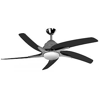 Ceiling fan Viper Plus Pewter with LED lighting 137 cm / 54""