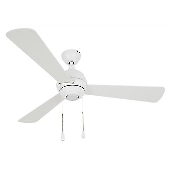 "Ceiling Fan Bordono White 122 cm / 48"" with lighting by Beacon"
