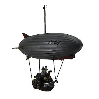 Todo vapor vapor adelante góndola colgante Steampunk aeronave estatua