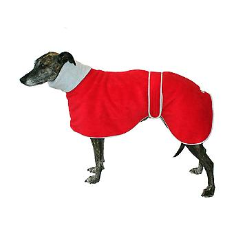 Greyhound Polo Coat röd 56cm (22 tum)