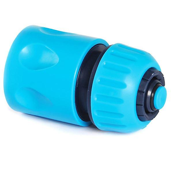 Quick Fit 1/2inch Female Water Stop Connector For Garden Hoses