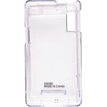 Wireless Solutions Snap-On Case for Motorola Droid A855, Milestone A854 (Clear)