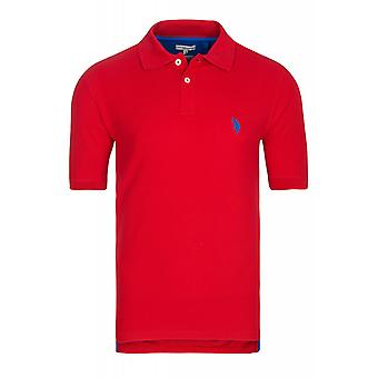 U.S. POLO ASSN. Shirt men's Polo Shirt red 197 42607 51887 155