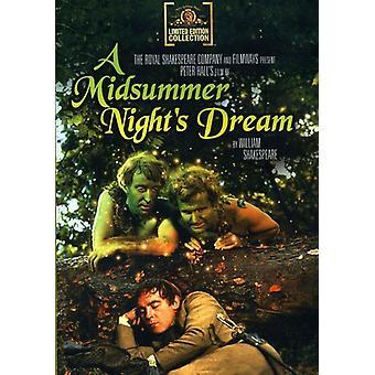 Midsummer Night's Dream (1969) [DVD] USA importeren