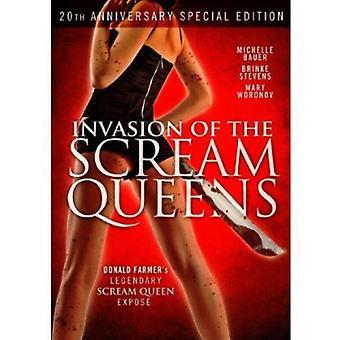 Invasion af Scream Queens [DVD] USA importerer