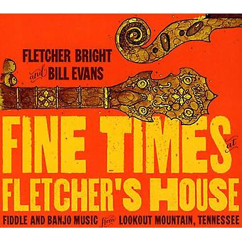 Bill Evans & Fletcher Bright - Fine Times på Fletchers hus [CD] USA import
