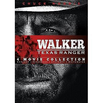 Walker Texas Ranger: Four Movie Coll: Warzone & [DVD] USA import