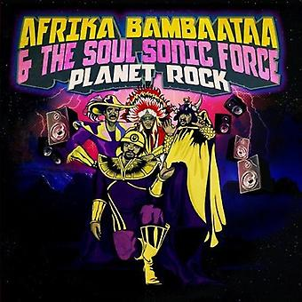 Afrika Bambaataa & the Soul Sonic Force - Planet Rock [CD] USA import