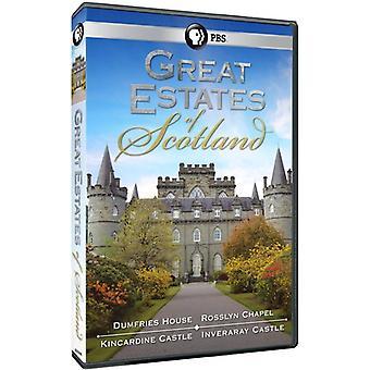 Große Ländereien von Schottland [DVD] USA importieren