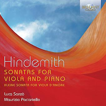 Hindemith - Sonatas for Viola & Piano [CD] USA import