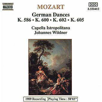 W.a. Mozart - Mozart: Deutsche Tänze [CD] USA import