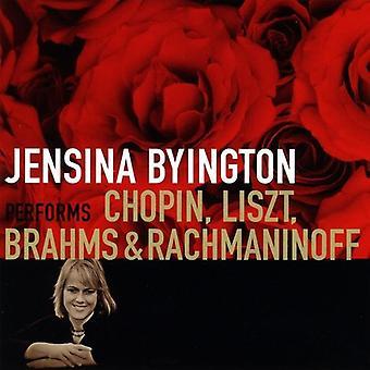 Jensina Byington - Jensina Byington Performs Chopin, Liszt, Brahms & Rachmaninoff [CD] USA import