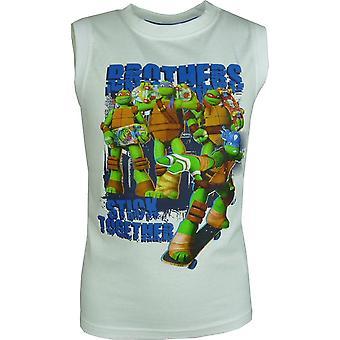 Boys Nickelodeon Ninja Turtles sleeveless T-shirt / Vest Top