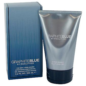Liz Claiborne Men Realities Graphite Blue After Shave Soother Gel By Liz Claiborne