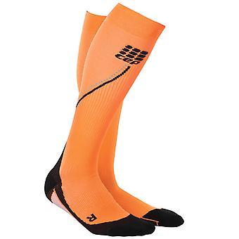 CEP Women Progressive+ Night Run Socks2.0 - FlashOrange