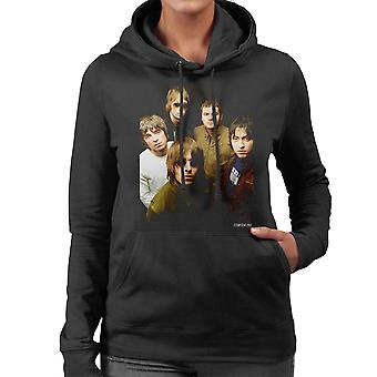 Oasis Band Photograph Women's Hooded Sweatshirt