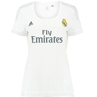 2015-2016 Real Madrid Adidas Womens Home Trikot