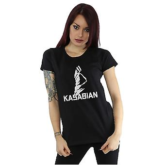 Kasabian kvinders Ultraface Logo T-Shirt