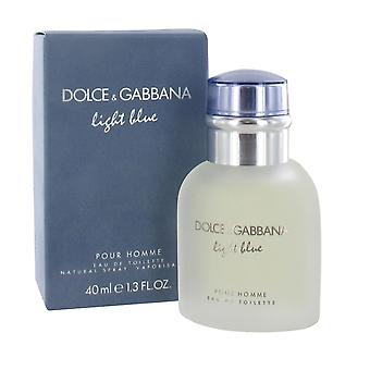 Dolce & Gabbana Light Blue Pour Homme 40ml Eau de Toilette Spray for Men