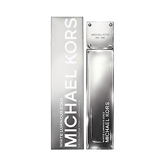 Oro blanco luminoso de Michael Kors para mujer 3.4oz Eau De Parfum Spray