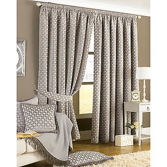 Riva Home Belmont Pencil Pleat Curtains