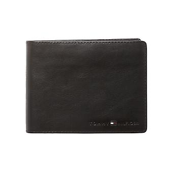 Tommy Hilfiger – Icons – CC + flap and coin pocket heren portemonnee – black